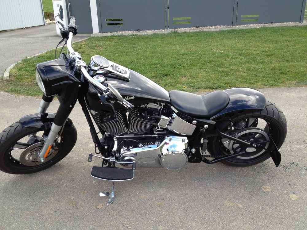 motorrad harley davidson fat boy um 29900 auf www. Black Bedroom Furniture Sets. Home Design Ideas